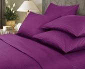 Постельное белье Веросса страйп-сатин Роял Violet  2-спальное 70х70 см