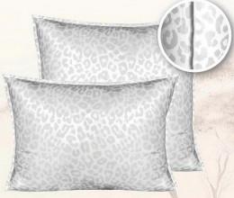 Подушка Mona Liza Wild Nature Лебяжий пух в сатине средняя 50х70