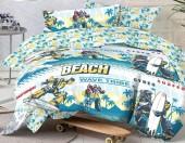 Детское постельное белье Mona Liza бязь 1,5-спальное 50х70 см Transformers WAVE