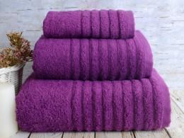 Полотенце махровое бамбук IRYA Wella Mudrum (фиолет) 50х90