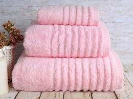 Полотенце махровое бамбук IRYA Wella Pembe (розовый) 70х130