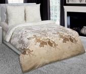 Постельное белье с простыней на резинке АртПостель АДАЖИО поплин 2-спальное70х70 см
