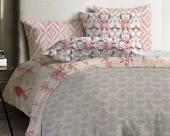 Постельное белье Mona Liza Japanese ранфорс 1,5-спальный 70х70 арт.Azhur