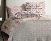 Постельное белье Mona Liza Japanese ранфорс 2-спальный 70х70 арт.Azhur