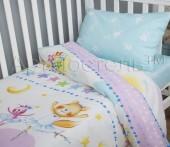 Детское постельное белье АртПостель АКВАРЕЛЬКИ поплин беби