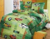 Детское постельное белье Svit бязь ГОСТ 1,5-спальное 70х70 см АВТОРАЛЛИ