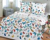 Детское постельное белье Svit бязь ГОСТ 1,5-спальное 70х70 см БАБОЧКИ
