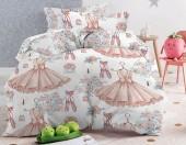 Детское постельное белье Mona Liza бязь 1,5-спальное 50х70 см БАЛЕРИНЫ
