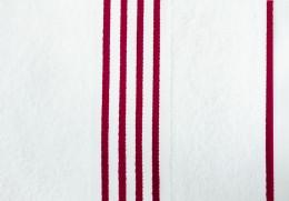 Полотенце Goezze Rio Белый/Красный арт.141-33-5 хлопок 70х140