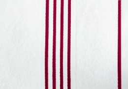 Полотенце Goezze Rio Белый/Красный арт.141-33-4 хлопок 50х100