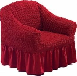 """Чехол для кресла Karna """"Bulsan"""" бордо"""