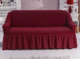 Чехол для дивана 2-3-местн. Karbeltex бордо