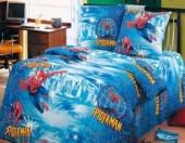 """Детское постельное белье АртПостель """"Человек паук"""" бязь 1,5-спальное"""