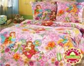 Детское постельное белье Valtery бязь премиум 1,5-спальное 50х70 см арт. ДБ-26