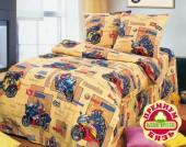 Детское постельное белье Valtery бязь премиум 1,5-спальное 50х70 см арт. ДБ-27