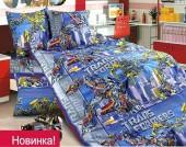 Детское постельное белье Valtery бязь премиум 1,5-спальное 50х70 см арт. ДБ-28
