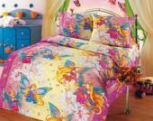 Детское постельное белье Valtery бязь премиум 1,5-спальное 50х70 см арт. ДБ-29