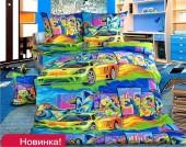Детское постельное белье Valtery бязь премиум 1,5-спальное 50х70 см арт. ДБ-31