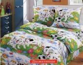 Детское постельное белье Valtery бязь премиум 1,5-спальное 50х70 см арт. ДБ-32