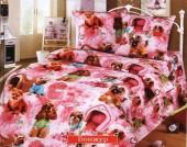Детское постельное белье Valtery бязь премиум 1,5-спальное 50х70 см арт. ДБ-34