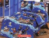 Детское постельное белье Valtery бязь премиум 1,5-спальное 50х70 см арт. ДБ-35