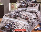 Детское постельное белье Valtery бязь премиум 1,5-спальное 50х70 см арт. ДБ-36