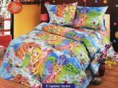 Детское постельное белье Valtery бязь премиум 1,5-спальное 50х70 см арт. ДБ-40