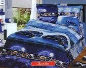 Детское постельное белье Valtery бязь 1,5-спальное 50х70 см арт. ДБ-49