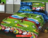 Детское постельное белье Valtery бязь 1,5-спальное 50х70 см арт. ДБ-50