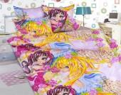 Детское постельное белье Valtery бязь 1,5-спальное 50х70 см арт. ДБ-66
