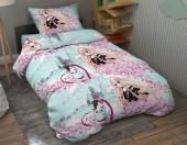 Детское постельное белье Valtery бязь 1,5-спальное 50х70 см арт. ДБ-79