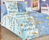 Детское постельное белье Svit бязь ГОСТ 1,5-спальное 70х70 см ДЕНЬ И НОЧЬ