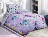 Детское постельное белье Mona Liza бязь 1,5-спальное 50х70 см Little Pony ДЕСЕРТ ЛИЛОВЫЙ
