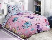 Детское постельное белье Mona Liza бязь 1,5-спальное 50х70 см Little Pony ДЕСЕРТ РОЗОВЫЙ