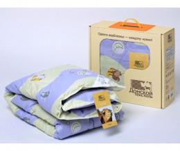 Одеяло детское Донской текстиль верблюжья шерсть облегченное 110х140 см