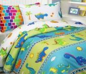 Детское постельное белье Mona Liza бязь 1,5-спальное 70х70+50х70 см ДИНО