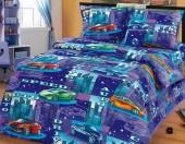Детское постельное белье Svit бязь ГОСТ 1,5-спальное 70х70 см ДРАЙВ