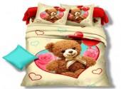 Детское постельное белье Valtery арт. DS-05 сатин 1,5-спальное 50х70 см
