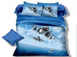 Детское постельное белье Valtery арт. DS-06 сатин 1,5-спальное 50х70 см