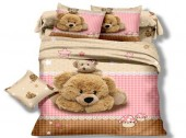 Детское постельное белье Valtery арт. DS-07 сатин 1,5-спальное 50х70 см