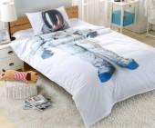 Детское постельное белье Valtery сатин 1,5-спальное 50х70 см арт. DS-22