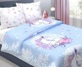 Детское постельное белье Svit бязь ГОСТ 1,5-спальное 70х70 см ЕДИНОРОГ