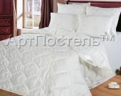 Одеяло АртПостель Эвкалипт в сатин-жаккарде всесезонное евро 200х215 см
