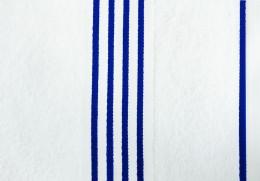 Полотенце Goezze Rio Белый/Синий арт.141-51-5 хлопок 70х140