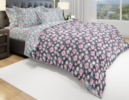 КПБ Amore Mio Eco Cotton бязь 1,5-спальное 70х70 см арт.URG Flora