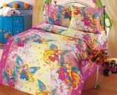 Детское постельное белье Svit бязь ГОСТ 1,5-спальное 70х70 см ФЕЯ-2