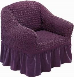 "Чехол для кресла Karna ""Bulsan"" фиолет."
