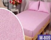 Простыня на резинке Мерцана махровая 160х200х20 см Фиолетовый