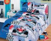 Детское постельное белье Svit бязь люкс 1,5-спальное 70х70 см ФОРМУЛА 1