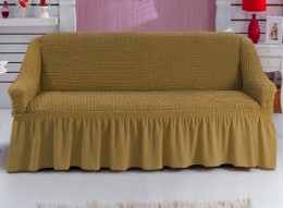Чехол для дивана 2-3-местн. Karbeltex горчица